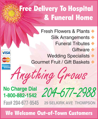 flower shop advertisement