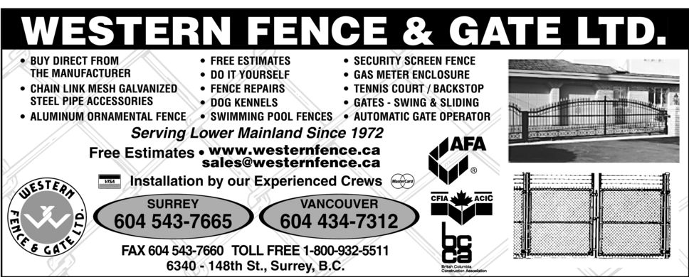 Surrey Fences  Fence Contractors | Find Fences  Fence