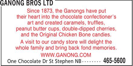 ganong bros limited case
