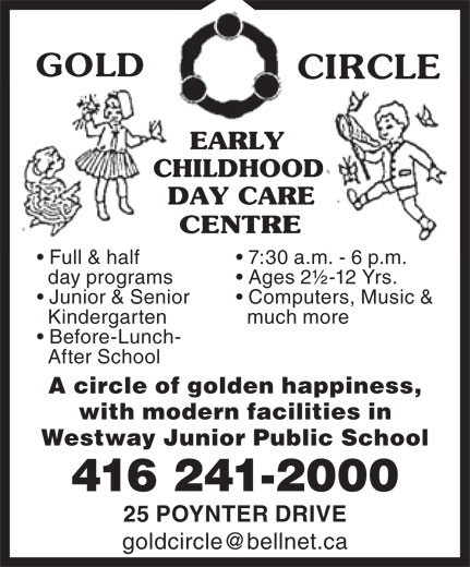 Ads Gold Circle Early Childhood Day Care Centre