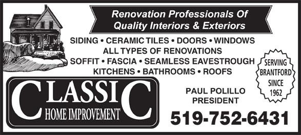 Ads Classic Home Improvement Inc