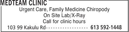 Ads Med-team Clinic