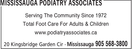 Mississauga Podiatry Associates (905-568-3800) - Annonce illustrée======= - Serving The Community Since 1972 Total Foot Care For Adults & Children www.podiatryassociates.ca  Serving The Community Since 1972 Total Foot Care For Adults & Children www.podiatryassociates.ca  Serving The Community Since 1972 Total Foot Care For Adults & Children www.podiatryassociates.ca  Serving The Community Since 1972 Total Foot Care For Adults & Children www.podiatryassociates.ca  Serving The Community Since 1972 Total Foot Care For Adults & Children www.podiatryassociates.ca  Serving The Community Since 1972 Total Foot Care For Adults & Children www.podiatryassociates.ca