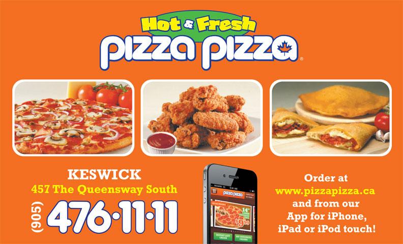 Pizza Pizza (905-476-1111) - Display Ad -