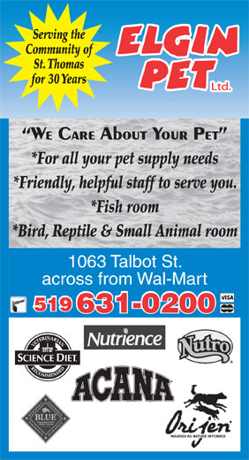 Ads Elgin Pet Ltd