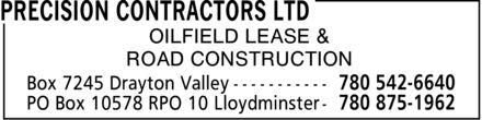 Ads Precision Contractors Ltd