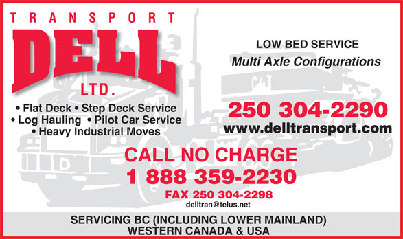 Ads Dell Transport Ltd