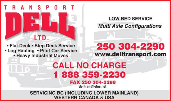 Ads Dell Transport Ltd