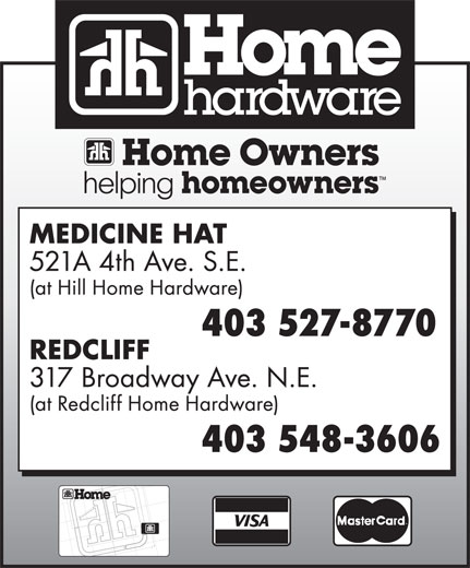 Home Hardware (403-527-8770) - Display Ad -