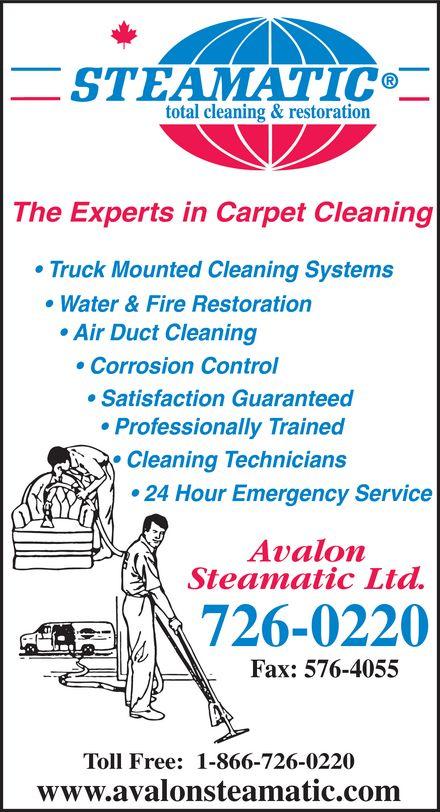 Ads avalon steamatic ltd for A1a facial salon equipment