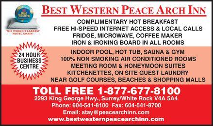 Best Western (1-877-297-2239) - Display Ad -