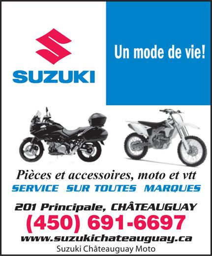 Moto Suzuki Chateauguay (450-691-6697) - Annonce illustrée======= -