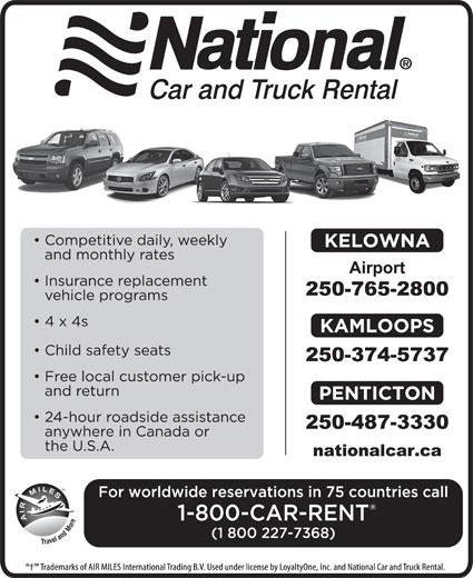 Kelowna Airport National Car Rental