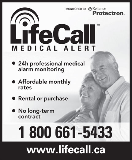 LifeCall (1-800-661-5433) - Display Ad -