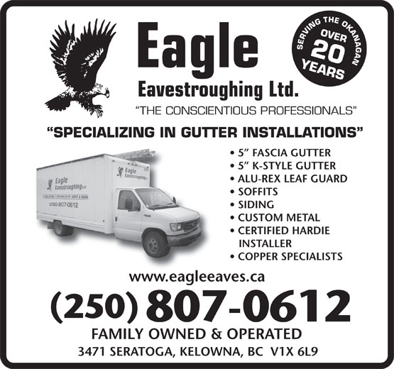 Ads Eagle Eavestroughing Ltd