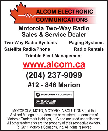 Ads Alcom Electronic Communications
