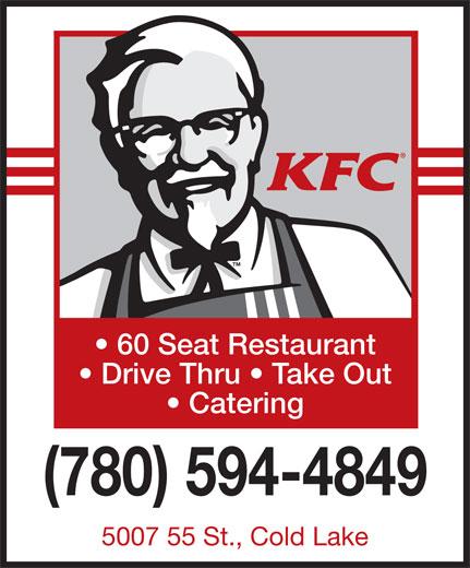 KFC (780-594-4849) - Annonce illustrée======= -