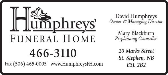Ads Humphreys Funeral Home