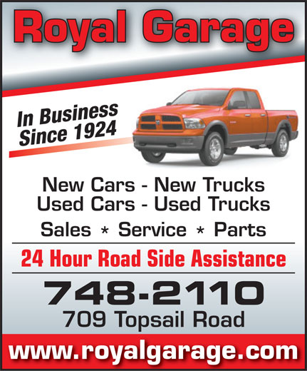 Dodge City-Royal Garage (709-748-2110) - Annonce illustrée======= -