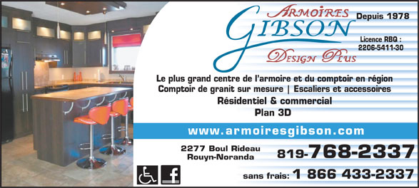 Ads Armoires Gibson