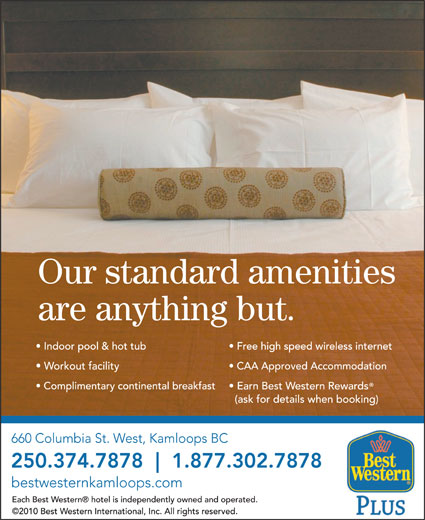 Best Western Plus (1-877-776-2190) - Display Ad -