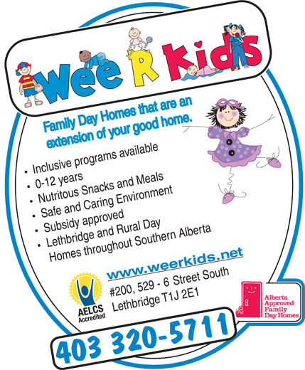 "Wee R Kids Family Day Homes (403-320-5711) - Annonce illustrée======= - `aeG,pXTQ((*iX!s/N*!WiE+#nIai+XSWe-mTlP&e,'J!WiE)!WiN3&/H92-n?l""-QsBB%L<1=!WiE"