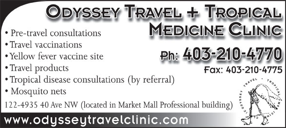 Ads Odyssey Travel & Tropical Medicine Clinic