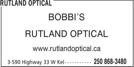 Ads Rutland Optical