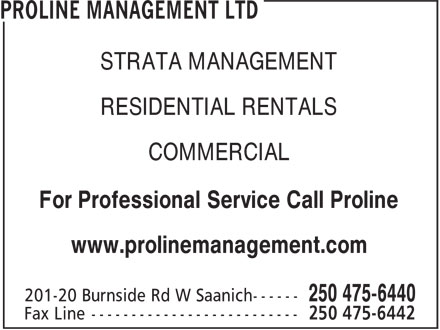 Ads Proline Property Management Ltd