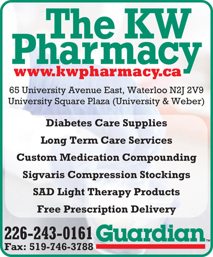 Ads K-W Guardian Pharmacy