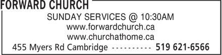 Ads Forward Baptist Church