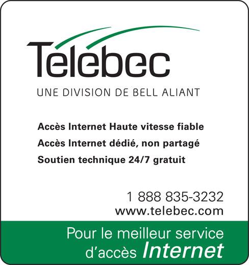 Télébec (1-888-835-3232) - Annonce illustrée======= -