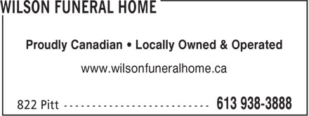 Ads Wilson Funeral Home