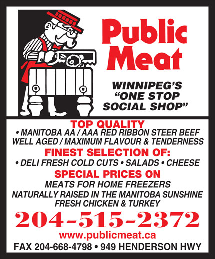 Public Meat (204-661-2394) - Display Ad -