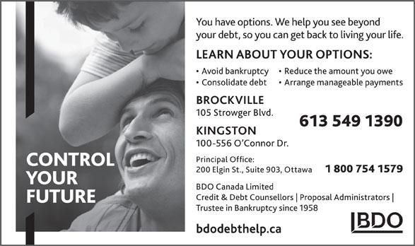 BDO Canada (613-549-1390) - Annonce illustrée======= -