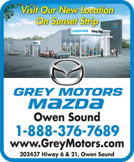 Grey Motors Owen Sound Used Cars
