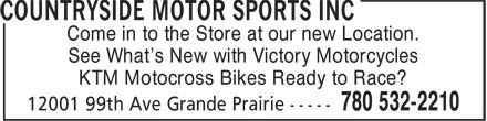Ads Polaris - Countryside Motor Sports