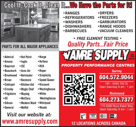 Ads Amre Supply