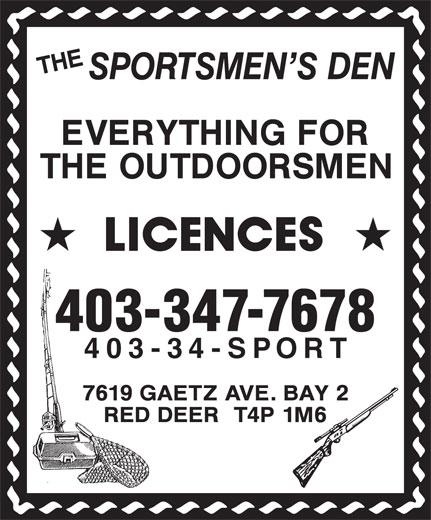 Ads Sportsmen's Den, The