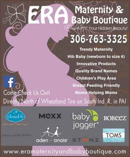 """Era Maternity And Baby Boutique (306-763-3325) - Display Ad - Ddl((Ddl((Ddl((Ddl((Ddl((Ddl((Ddl((Ddl((Ddl((Ddl((Ddl((Ddl((Ddl((E"""").)&X8.(`*uDdl((Ddl((Ddl()&X;/(`4&*(Ddl((Ddl((Ddl()&X;/(`4&*(Ddl((Ddl((Ddl(*?6%=)]KY3(`*u 306-763-3325 Trendy Maternity Hib Baby (newborn to size 6) Innovative Products Quality Brand Names Children s Play Area Breast Feeding Friendly Moms Helping Moms Come Check Us Out! Directly North of Wheatland Tire on South Ind. R. in PA! www.eramaternityandbabyboutique.com Ddl((Ddl((Ddl((Ddl((Ddl((Ddl((Ddl((Ddl((Ddl((Ddl((Ddl((Ddl((Ddl((E"""").)&X8.(`*uDdl((Ddl((Ddl()&X;/(`4&*(Ddl((Ddl((Ddl()&X;/(`4&*(Ddl((Ddl((Ddl(*?6%=)]KY3(`*u 306-763-3325 Trendy Maternity Hib Baby (newborn to size 6) Innovative Products Quality Brand Names Children s Play Area Breast Feeding Friendly Moms Helping Moms Come Check Us Out! Directly North of Wheatland Tire on South Ind. R. in PA! www.eramaternityandbabyboutique.com"""