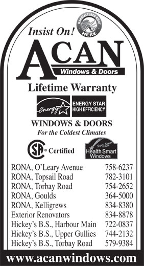 Rona Building Supplies Newfoundland