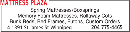 Ads Mattress Plaza