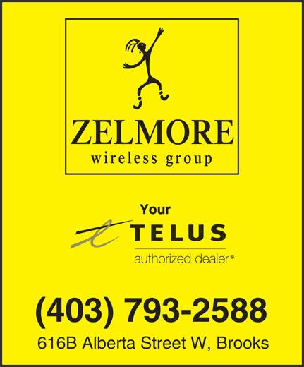 Zelmore Wireless Group (403-793-2588) - Annonce illustrée======= - 616B Alberta Street W, Brooks (403) 793-2588