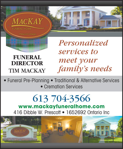 Ads MacKay Funeral Home