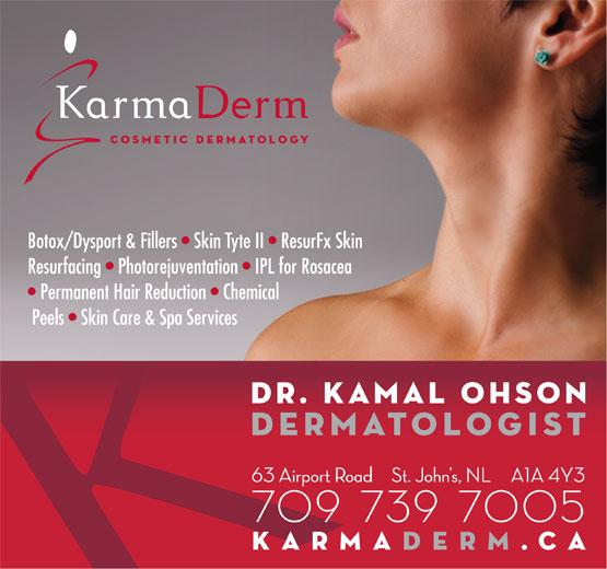 Ohson Kamal Dr (709-739-7669) - Display Ad -
