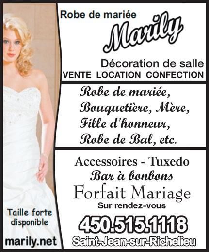 robe de mari e marily canpages fr