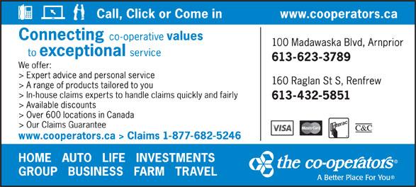 The Co-operators (613-623-3789) - Display Ad -