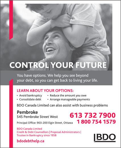 BDO Canada Limited (613-732-7900) - Display Ad -