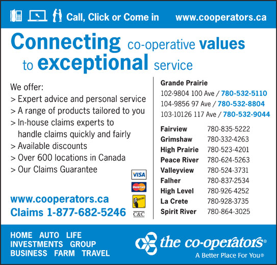 The Co-operators (587-600-3006) - Display Ad -