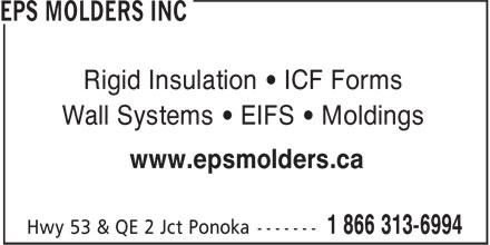 Ads EPS Molders Inc
